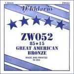 D'Addario ZW052 struna akustyczna