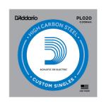 D'addario PL020 struna akust./elektr.