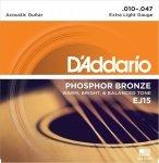 D'Addario EJ15 - Phosphor Bronze 10-47