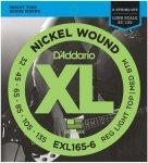 D'Addario EXL165-6 - XL Nickel 6-String 32-135