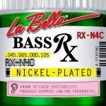 La Bella RX-N4C 45-105 nikiel  struny do basu 4 strunowego