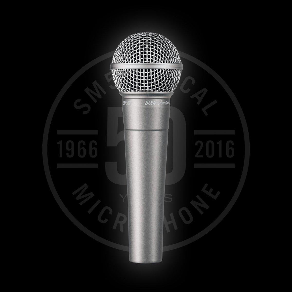 Shure SM58 mikrofon dynamiczny wersja na 50-lecie c0497178b0