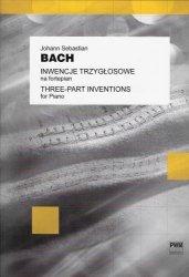 Inwencje trzygłosowe na fortepian  Johann Sebastian Bach