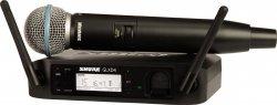 SHURE GLXD24E/B58 cyfrowy system bezprzewodowy z mikrofonem BETA58