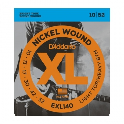 D'Addario EXL140 - XL Nickel Wound 10-52