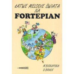 CRESCENDO Łatwe melodie świata na fortepian
