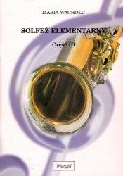 Solfeż elementarny - klasa III szkoły muzycznej I stopnia