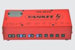 Yankee HS-M10 zasilacz efektów gitarowych