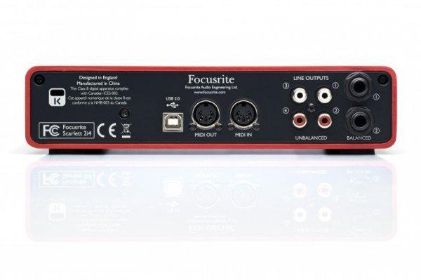 Focusrite Scarlett 2i4 interfejs audio USB