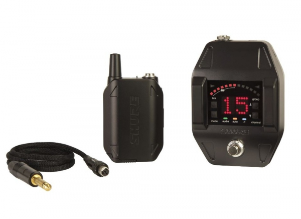 SHURE GLXD16E cyfrowy system bezprzewodowy - zestaw gitarowy
