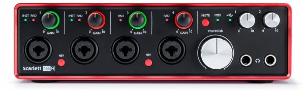 Focusrite Scarlett 18i8 2GEN interfejs audio