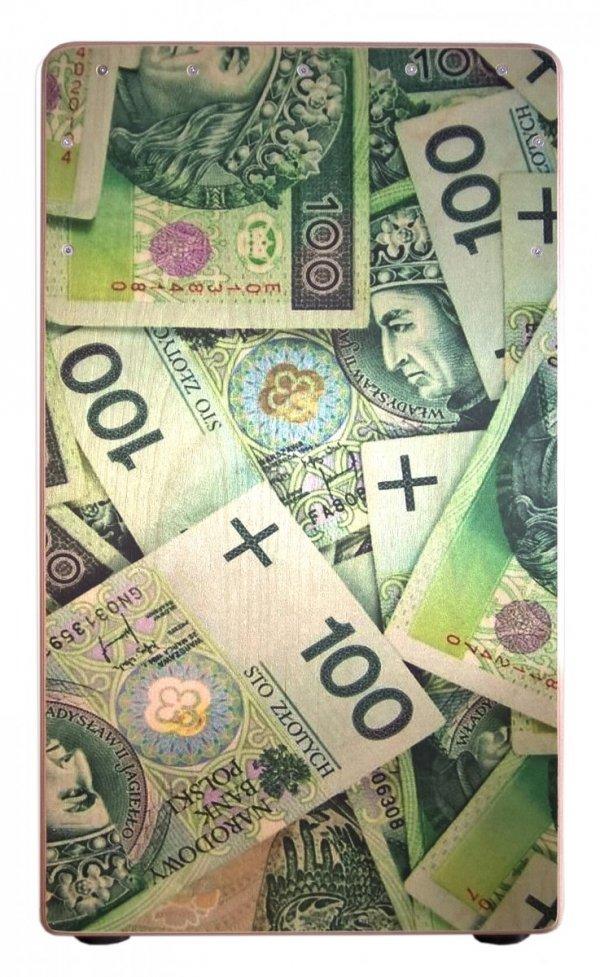 Aw Cajon SP10B25DB Money cajon dwustronny