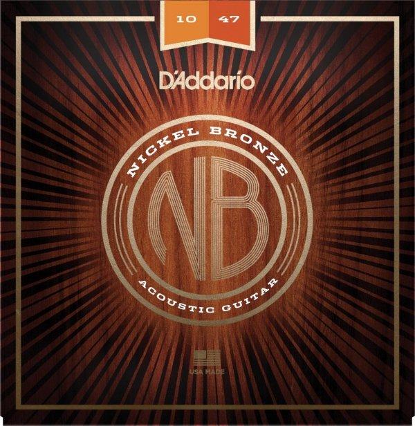 D'addario NB1047 struny akustyczne