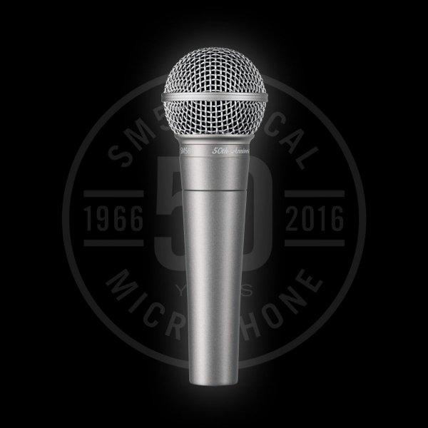 Shure SM58 mikrofon dynamiczny wersja na 50-lecie