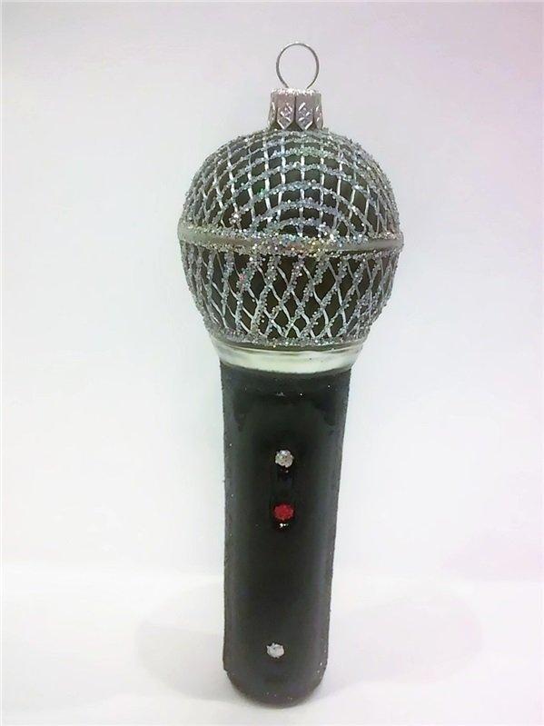 Zebra Bombka Mikrofon