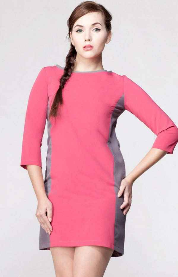 Awama 5835 Slim sukienka