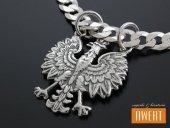 Orzeł w Koronie Godło - wisior srebrny