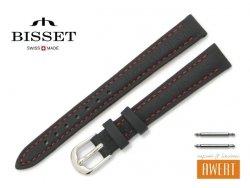 BISSET 12 mm XL pasek skórzany BS158