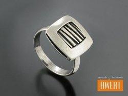 DAVOLI srebrny pierścionek roz. 14