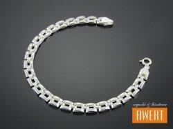 ALGOZ srebrna bransoletka 18 cm