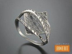 MERLIAH srebrny pierścień roz.15