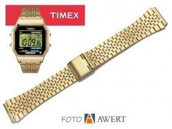 TIMEX TW2P48200 oryginalna bransoleta 18 mm