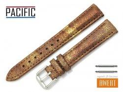 PACIFIC 16 mm pasek skórzany W123 brązowy