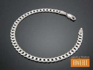 PANCERKA bransoleta srebrna 21,5 cm / 5 mm