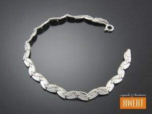 IDA srebrna bransoletka 19 cm