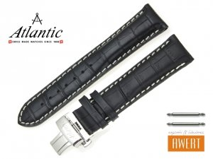 ATLANTIC 22 mm pasek skórzany 55460