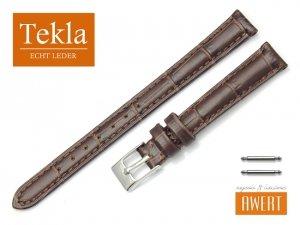 TEKLA 12 mm pasek skórzany PT41 brązowy