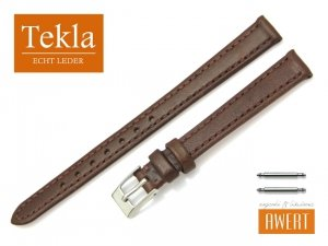 TEKLA 12 mm XL pasek skórzany PT69 brązowy