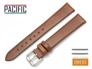 PACIFIC 16 mm pasek skórzany W86 brązowy