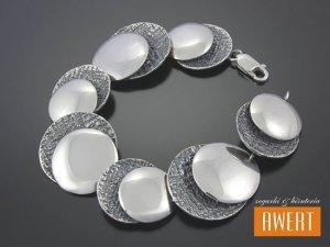 EVELIN srebrna bransoletka 19,5 cm