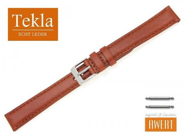 TEKLA 16 mm XL pasek skórzany PT68 brązowy