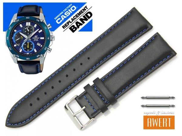 CASIO EFR-557BL-2AV oryginalny pasek 22 mm 10548369