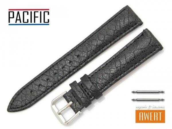 PACIFIC 18 mm pasek skórzany W123 czarny
