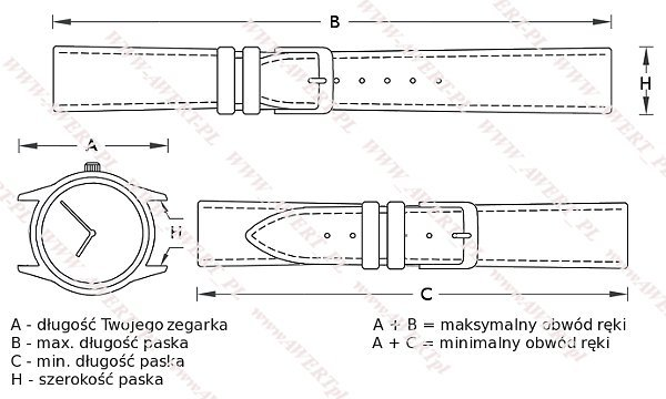 CASIO GA-100CF -1A9 oryginalny pasek 16 mm