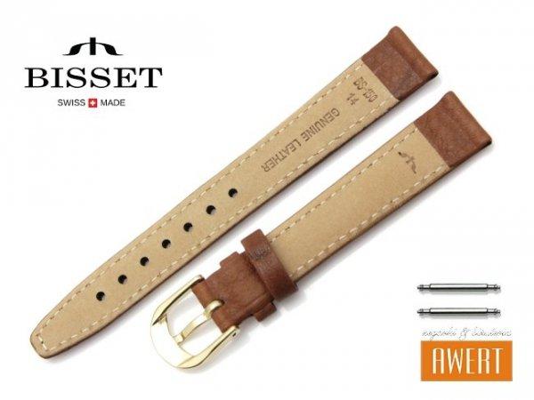 BISSET 14 mm pasek skórzany BS150