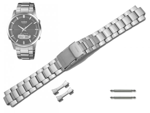 CASIO LCW-M170D-1A oryginalna bransoleta 20 mm 10486021