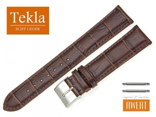 TEKLA 20 mm XL pasek skórzany PT25 brązowy