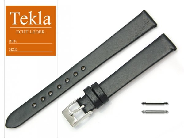 TEKLA 14 mm XL pasek skórzany PT26 czarny