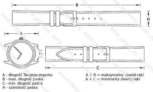 CASIO LTP-1236L-1A oryginalny pasek 12 mm