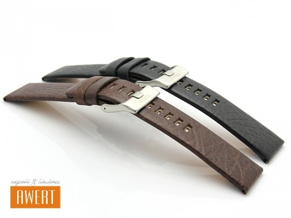 TEKLA 30 mm pasek skórzany PT04 brązowy