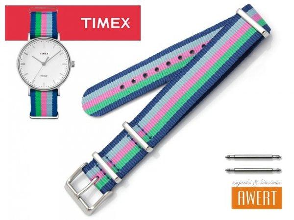 TIMEX PW2P91700 TW2P91700 oryginalny pasek 18 mm