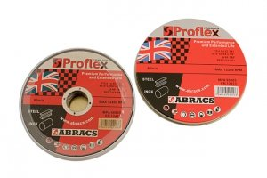 Abracs 115mm x 1.0mm Thin Discs 10 x 10 Tins