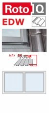 Kombi-Eindeckrahmen Roto Q-4 EDW 2/1 Eindeckrahmen - für profilierte Eindeckmaterialien / Profilbeläge bis zu 8 cm hoch ProfilKombi-Eindeckrahmen Roto Q-4 EDW 2/1 Eindeckrahmen - für profilierte Eindeckmaterialien / Profilbeläge bis zu 8 cm hoch Profil ww