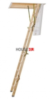 Bodentreppe Dolle CLICKFIX 36 MINI GOLD Holz www.house-4u.eu