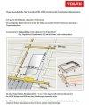 Anschlussschürze VELUX BFX plissiert / Dämm- und Anschlussprodukte www.house-4u.eu