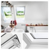 Dachfenster VELUX GPU 0070 Klapp-Schwingfenster Kunststoff-Fenster mit Riesen-Öffnun www.house-4u.eu